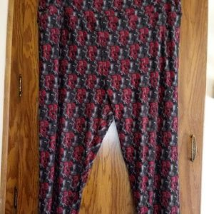 "Lularoe TC2 ""Edna"" from The Incredibles Leggings"